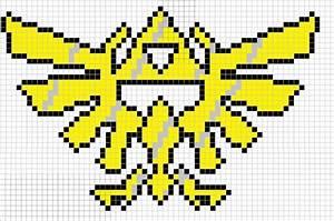 Full Triforce Zelda sprite grid | Sprite Grids | Pinterest