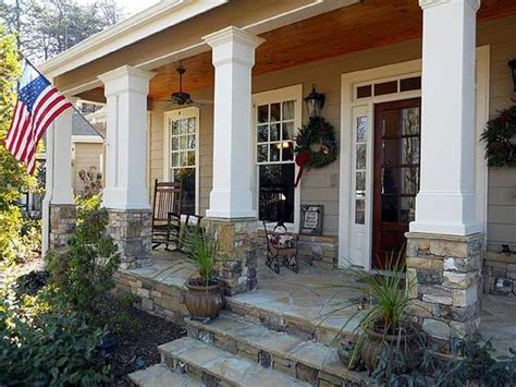 Rocking Chairs Country Front Porches Rustic