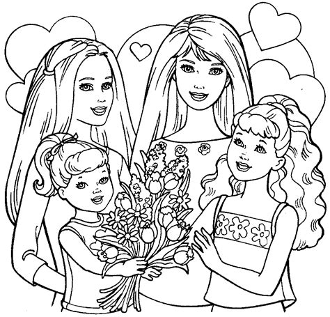barbie dream house coloring pages  getcoloringscom  printable colorings pages  print