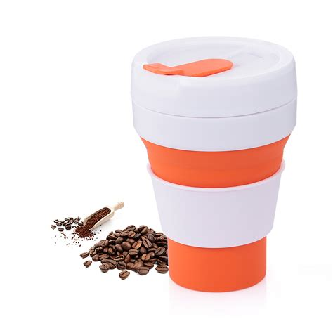 In the event of an outbreak you'll be good to go with your mug full of zombie defense serum. Foldable Silicone Cup Collapsible Coffee Cup with Lid Travel Portable Drinking Cup for Hiking ...