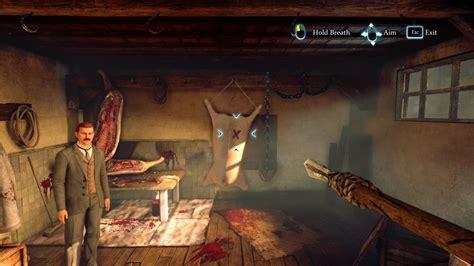 sherlock crimes holmes punishments punishment murder gamespot scale meat getting