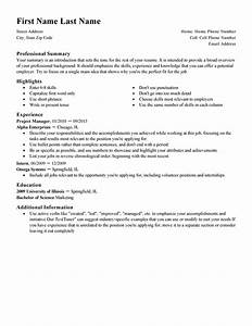 free resume templates fast easy livecareer With easiest resume template