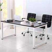 computer workstation furniture Computer Desk PC Laptop Table Wood Workstation Study Home ...