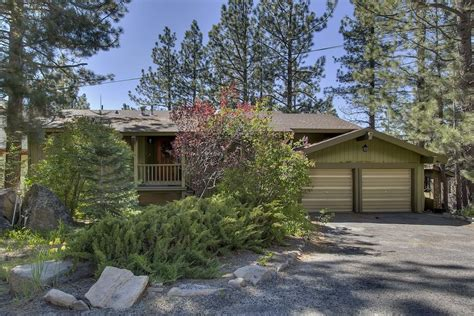 lake tahoe vacation resort front desk phone number front yard view in the spring time
