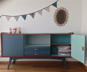 Buffet Enfilade Vintage : buffet vintage 70 39 chambre parents pinterest meubles relooking et meuble vintage ~ Teatrodelosmanantiales.com Idées de Décoration
