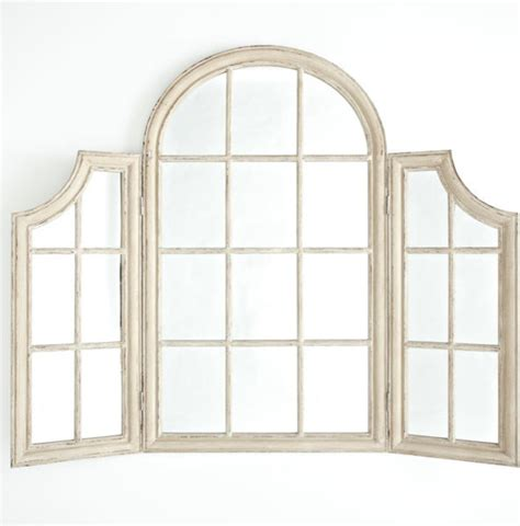 uttermost brayden arch mirror antiqued arch window mirror traditional wall mirrors