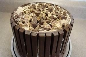 Foodista The Ultimate Kit Kat Ice Cream Cake