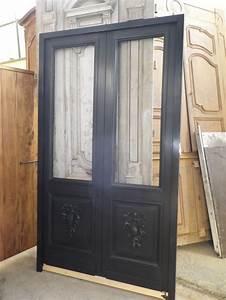 porte de garage avec porte double vantaux interieur With porte de garage et porte d interieur double vantaux