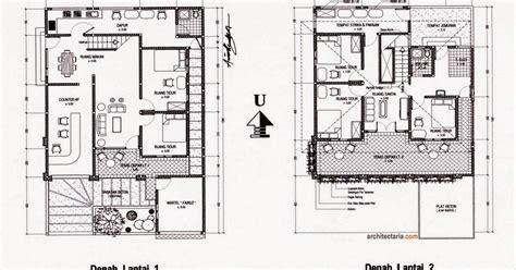 gambar desain arsitektur rumah minimalis