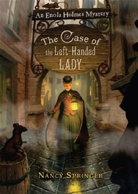 case   left handed lady enola holmes mysteries