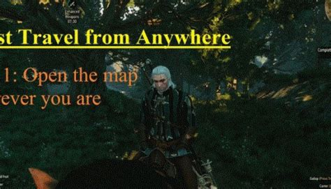 Fast Travel Using Boats Witcher 3 by You Can Now Fast Travel From Anywhere In Witcher 3 N4g