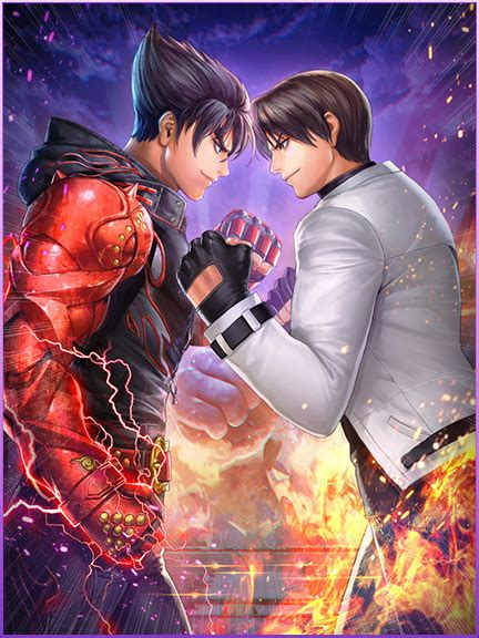 king  fighters  star  tekken  crossover