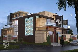 3d Architectural Visualization  3d Exterior Night