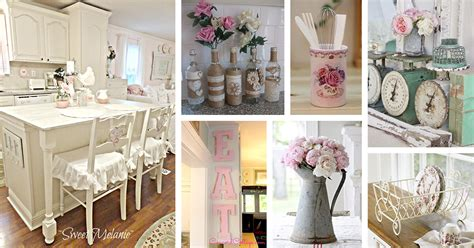 Shabby Chic Home Decor Ideas by 29 Best Shabby Chic Kitchen Decor Ideas And Designs For 2019
