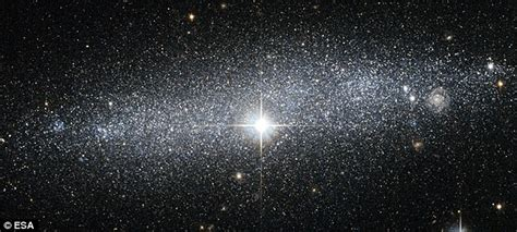 The Glittering Galaxy Bright You Can Almost Count