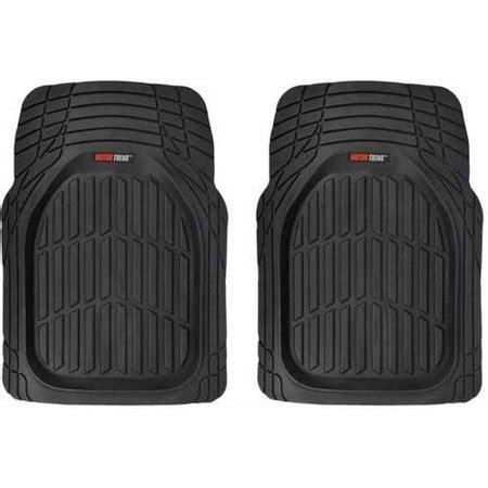 walmart car mats motor trend front car floor mats 2 flextough rubber