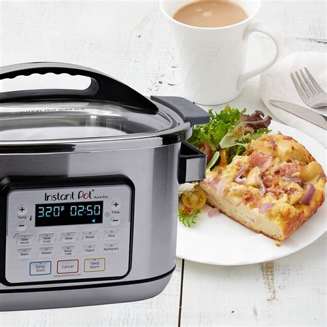 From the makers of instant pot, america's #1 most loved appliance. Instant Pot Aura Pro 11-in-1 Multicooker, Slow Cooker, Rice Cooker, Grain Maker, Steamer, Saute ...