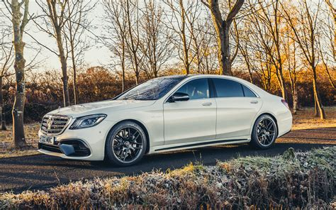 Download Wallpapers Mercedes-benz S63 Amg, 2017, Luxury