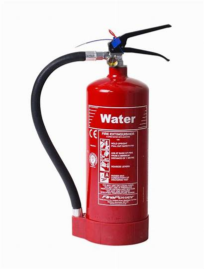 Fire Extinguisher Types Water Extinguishers Different Tipos