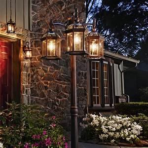 Image gallery light posts gardening