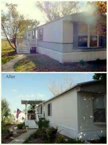 painting a mobile home interior my 39 s song mobile home exterior before after paint valspar satin ext asiago house