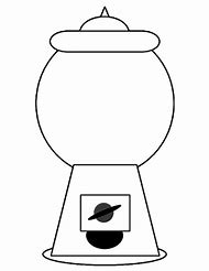 30+ Gumball Machine Coloring Page