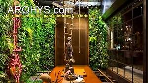 Ideas para construir un jardin vertical - YouTube