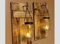 DIY Mason Jar Sconce Making Tutorial Mason Jar Crafts