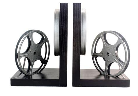 Home Decor 8mm : Vintage 8mm Film Reel Bookends