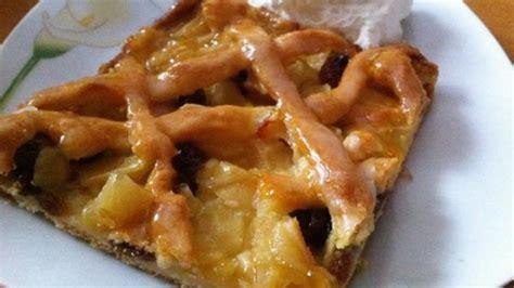 Rezept Apfelkuchen Mit Gitter Vom Blech  Frag Mutti