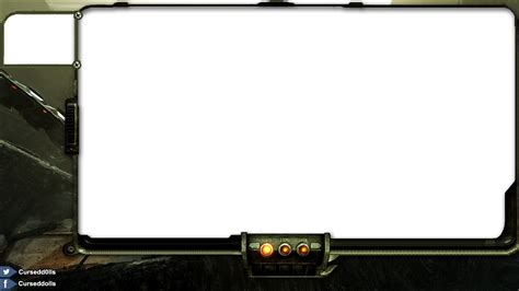 Twitch Stream Template Overlays Skyrim by Fallout2 By Blackboxed On Deviantart
