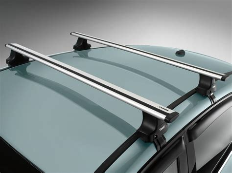 thule roof racks racks and carriers by thule cross bar rack w o factory