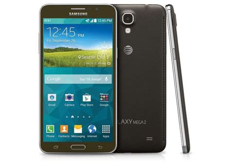 mega 2 phone samsung galaxy mega 2 launches on at t october 24