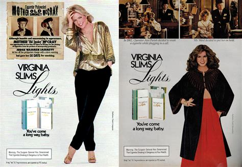 introducing television lift you ve come a way baby virginia slims advertising