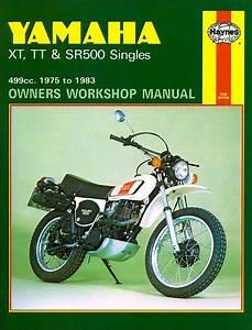 Yamaha Xt500  Tt500  Sr500 Repair Manual 1975