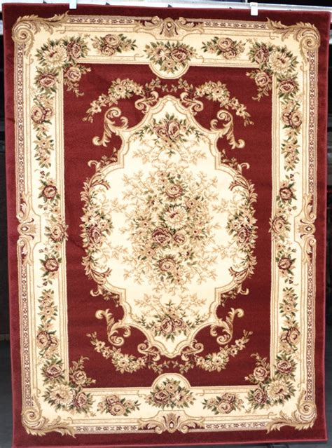 Victorian Rugs For Sale by Burgundy Green Victorian 5x7 Area Rug Carpet Traditional