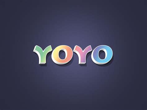 3d Logo Text Mockup Smart Object Psd Yoyo 3d Text Effect Psd