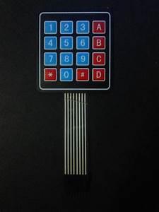 Arduino 4x4 Keypad To Microcontroller Electrical