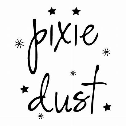 Dust Pixie Quotes Wall Decal Sparkles Wallquotes