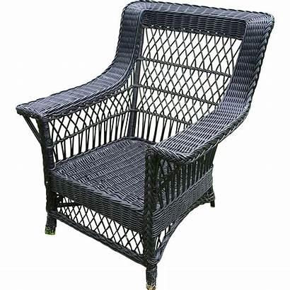 Wicker Arm Chair Bar Harbor 1920 Circa