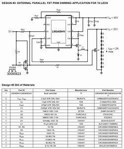 Dimming Led Circuit Diagram