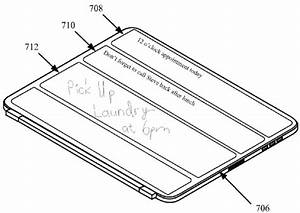 apple patent reveals ipad smart cover with flexible With inductiveipadchrgr