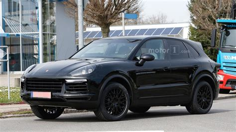 2018 Porsche Cayenne Spied In Germany Motor1com