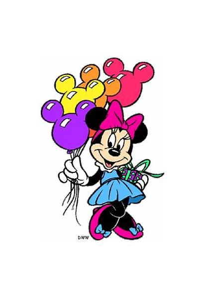 Minnie Mouse Birthday Clipart Clip Disney Happy