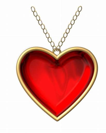Heart Necklace Clipart Locket Clip Clker Hearts