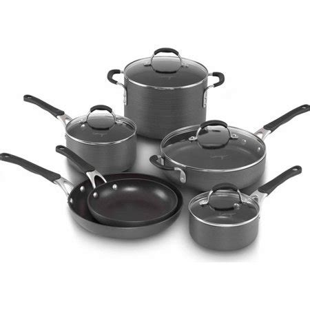 Cooking with Calphalon Hard Anodized Nonstick 10 Piece