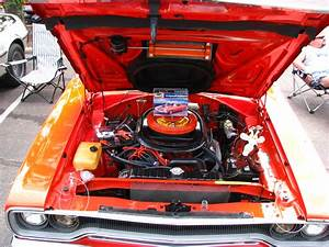 1970 Plymouth Road Runner Engine Bay