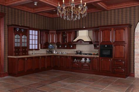 cherry kitchen cabinets pictures 8 best 2014 oppein new kitchen cabinet solid wood cabinets 5373