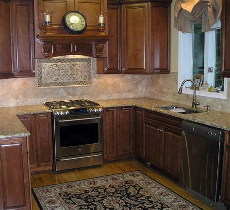 kitchen floor ideas with cabinets brown wooden kitchen floor with black rug completed