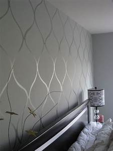 Stencil your walls for a chic DIY alternative to paint or ...
